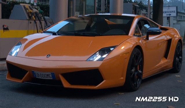 Video: Lamborghini Gallardo LP560-4 with Tubi Exhaust at Monza