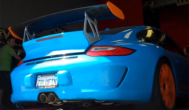 Video: Porsche 911 GT3 RS Dyno run With SharkWerks Exhaust System