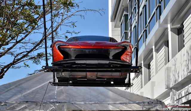New Pictures Show Underside of McLaren P1 Concept