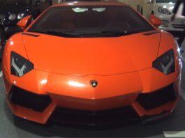 Video: Damaged Lamborghini Aventador at Dubai Mall