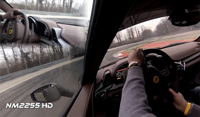 Video: NM2255 Rides in 295km/h Ferrari 458 Italia at Monza