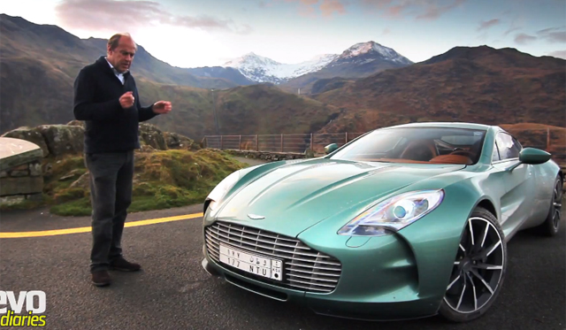 Video: Harry Metcalfe Drives the Exclusive Aston Martin One-77