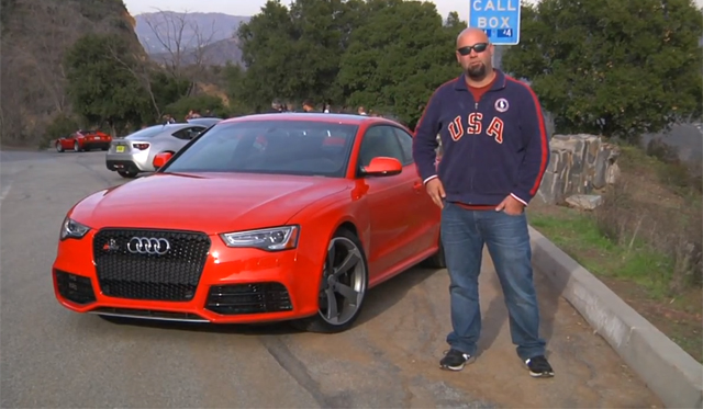 Video: Matt Farah Drives Audi RS5 for The Smoking Tire