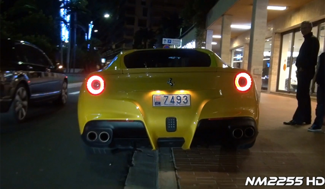 Video: Ferrari F12 Berlinetta Caught in Monaco