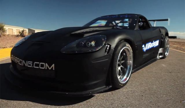 Video: Tuned Tests 550whp AVI Racing Corvette GT1