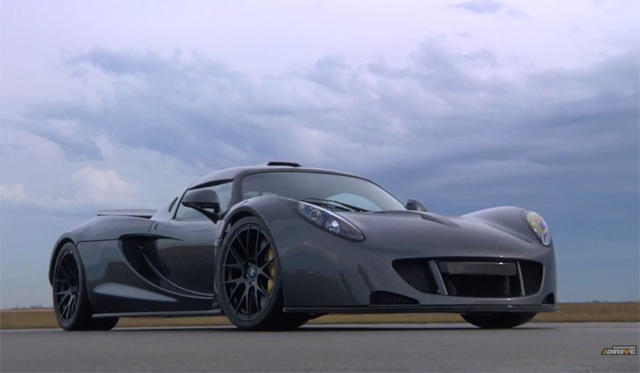 Video: DRIVE Goes Inside Hennessey's World Record Attempt