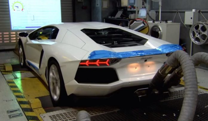 Video National Geographic Channel Episode About Lamborghini Aventador