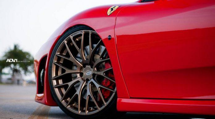 Ferrari F430 Fitted With ADV10.01SL Wheels
