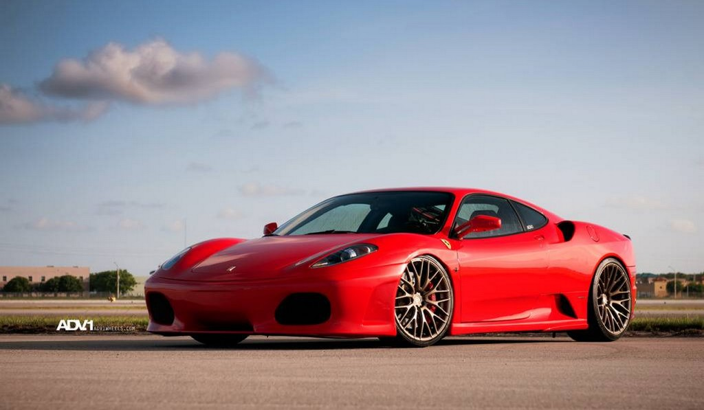 Ferrari F430 Fitted With Adv10 01sl Wheels Gtspirit