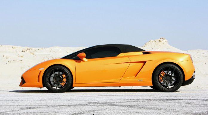 Lamborghini Gallardo LP560-4 Spyder on Renown Wheels