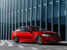 """2013 BMW F10 M5 on Modulare 20"""" B18 Wheels"""