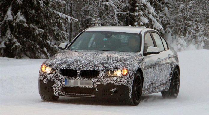 Spyshots: 2014 BMW M3 Winter Testing