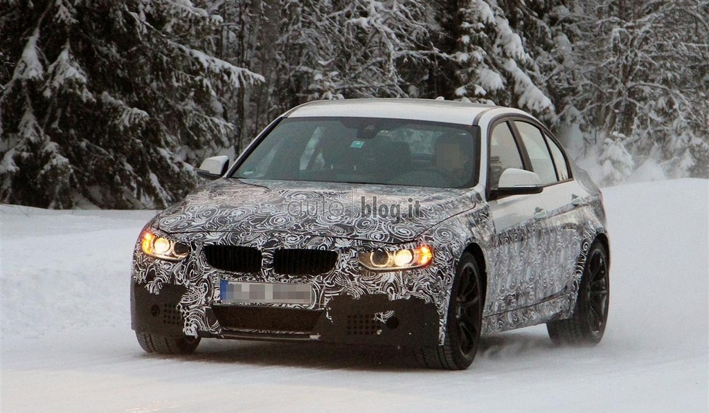 Spyshots: 2014 BMW M3 Winter Testing