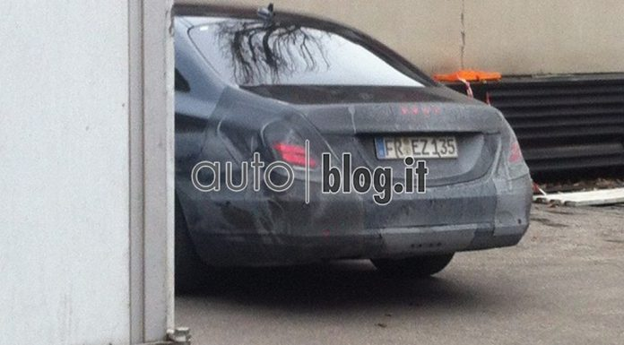 Spyshots: Mercedes-Benz S-Class 'W222'