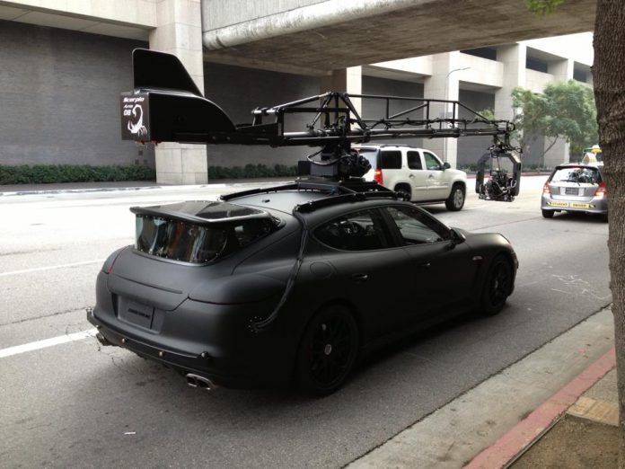 $160K Porsche Panamera Camera car Spotted in Hollywood