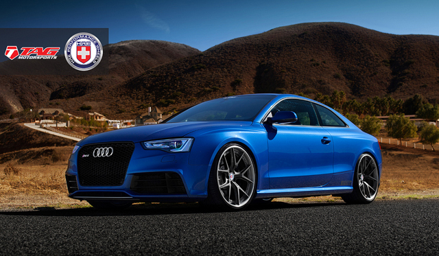 Audi RS5 by TAG Motorsports on HRE S101 Wheels