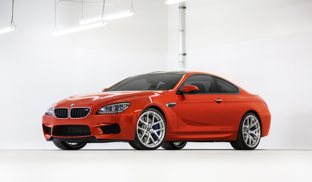 2013 BMW M6 Coupe on Vorsteiner VS-110 Forged Monoblock Wheels