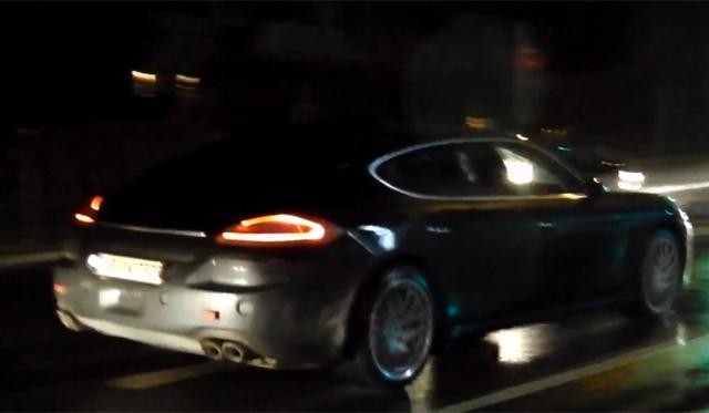 Video: 2013 Porsche Panamera Turbo Spied Testing