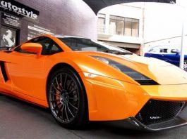 For Sale: 2004 Lamborghini Gallardo With Complete LP560-4 Rear end