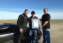 Hennessey Venom GT Claims 0-300km/h World Record