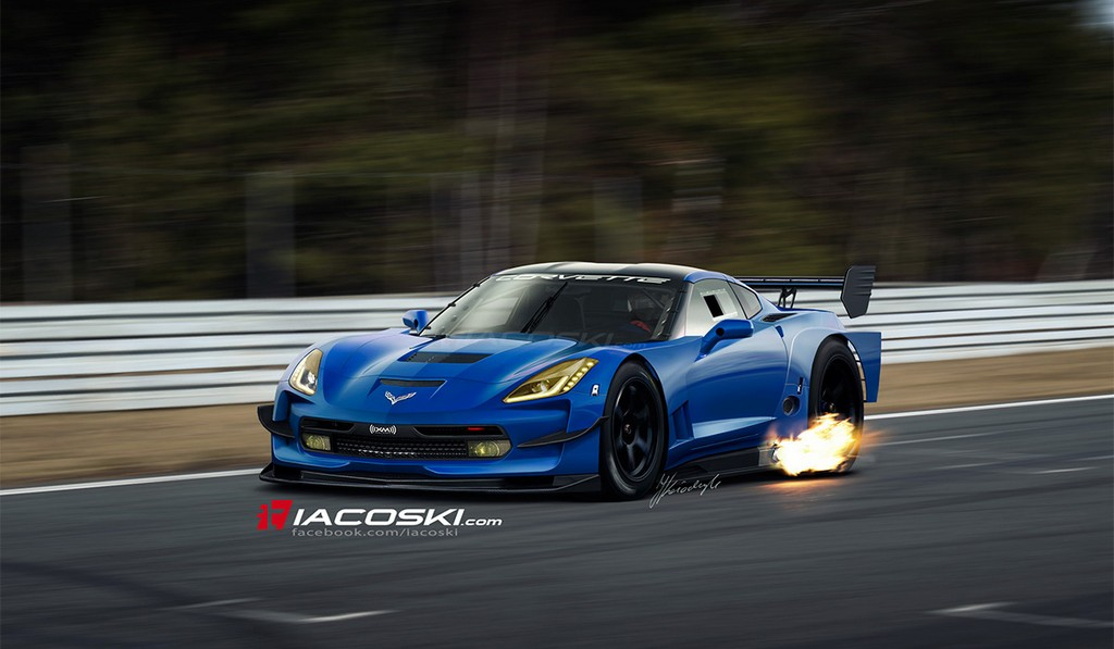 Render: Track-Ready 2014 Chevrolet Corvette Stingray by IACOSKI