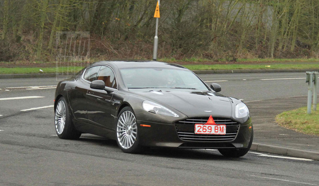Spyshots 2014 Aston Martin Rapide S Without Camouflage