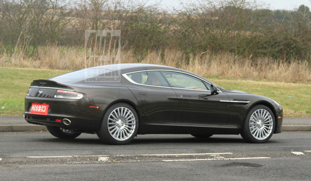 Spyshots 2014 Aston Martin Rapide S Without Camouflage 02