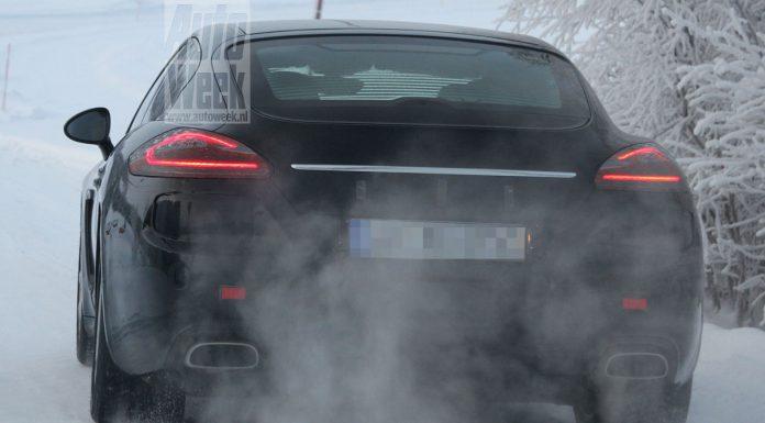 Spyshots: Facelifted 2013 Porsche Panamera
