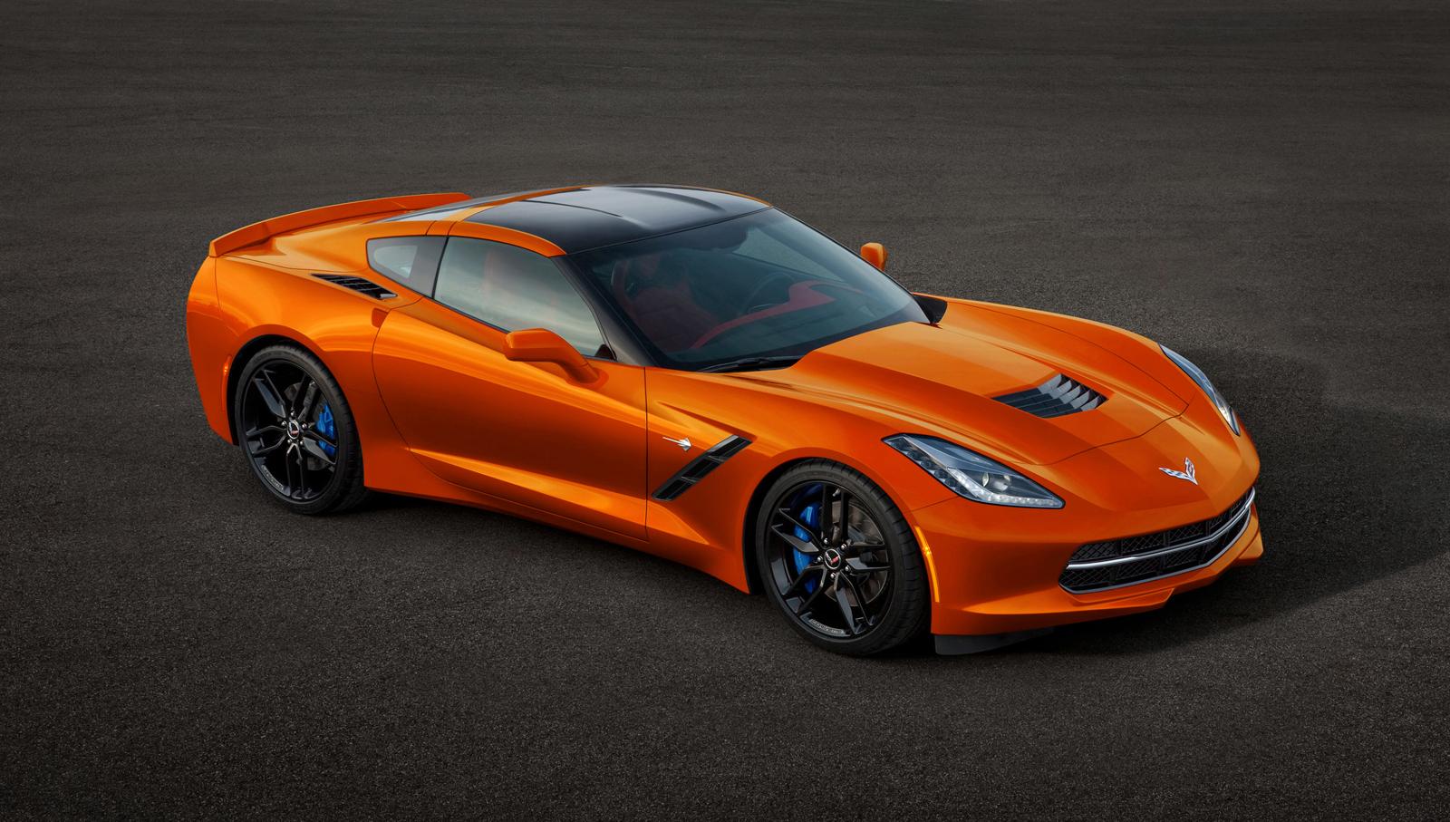 2014 Chevrolet Corvette Stingray in all ColorsCorvette Stingray 2014 Orange