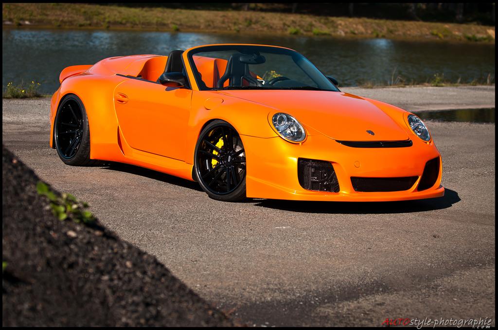 RUF 911 Turbo by RSQuattro on ADV.1 Wheels