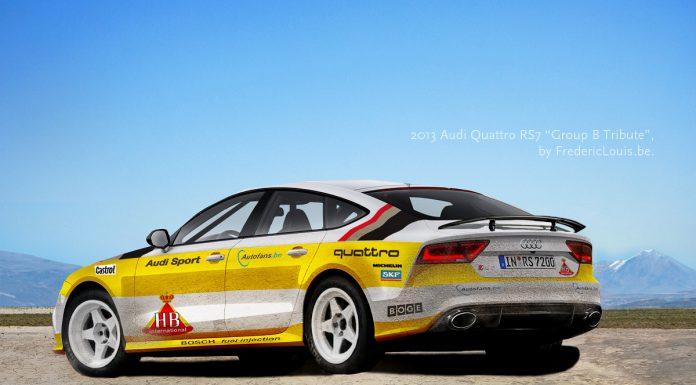 Render: Audi RS7 AMG Quattro Group B Racer