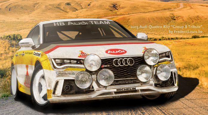 Render: Audi RS7 Quattro Group B Racer