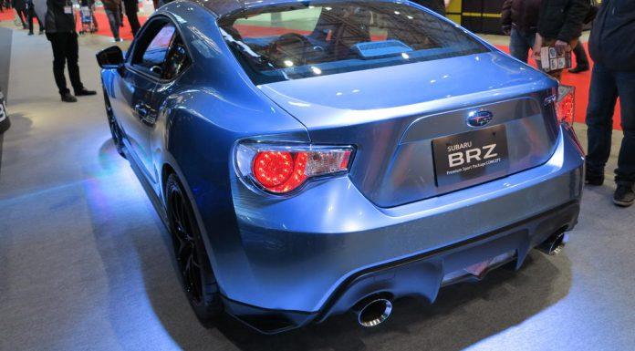 Tokyo 2013: Subaru BRZ Premium Sport Package Concept