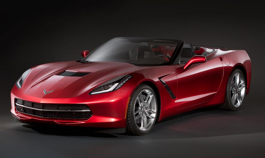 Render: 2014 Chevrolet Corvette Stingray Convertible