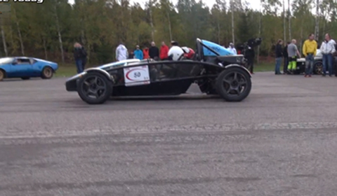 Video: Ariel Atom Turbo vs SAAB-powered Westfield Seiw