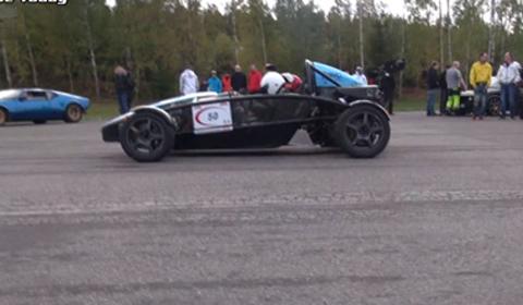 Video: Ariel Atom Turbo vs SAAB-powered Westfield Seiw