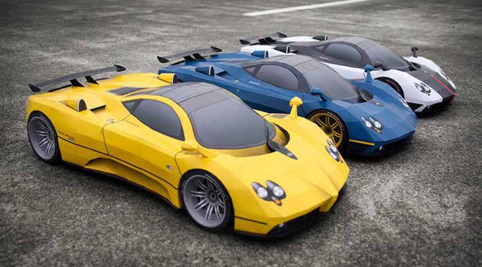 How to Create Your own Pagani Zonda With Paper