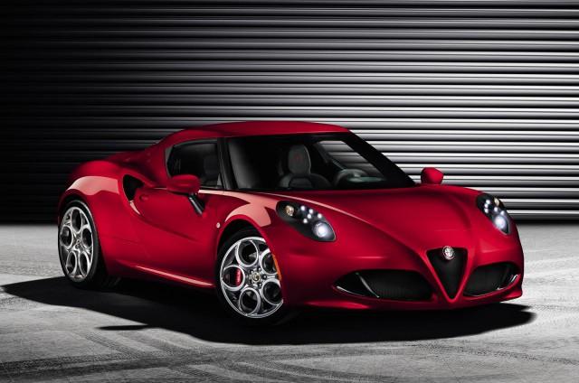 Official: 2014 Alfa Romeo 4C