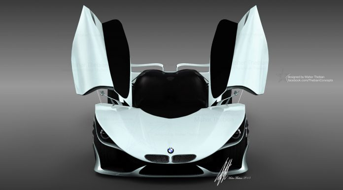 Render: Maher Thebian Releases new Images of BMW MT58 Concept