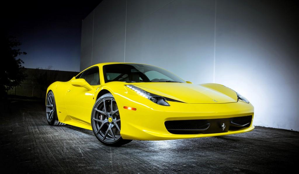 Ferrari 458 Italia Completed With Vorsteiner VS-110 Wheels