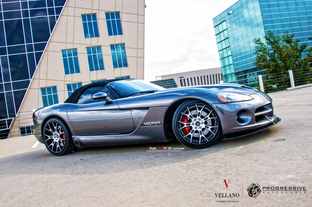 Dodge Viper Convertible on Vellano VTX Wheels