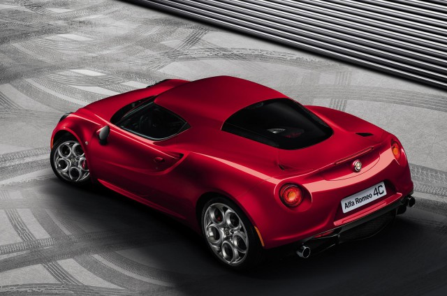 Official: 2014 Alfa Romeo 4C