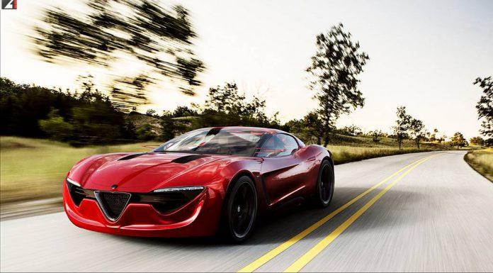 Render: Alfa Romeo 6C by Alex Imnadze