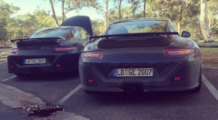 Spyshots: Porsche 991 911 GT3 Caught Hot-Weather Testing in Australia