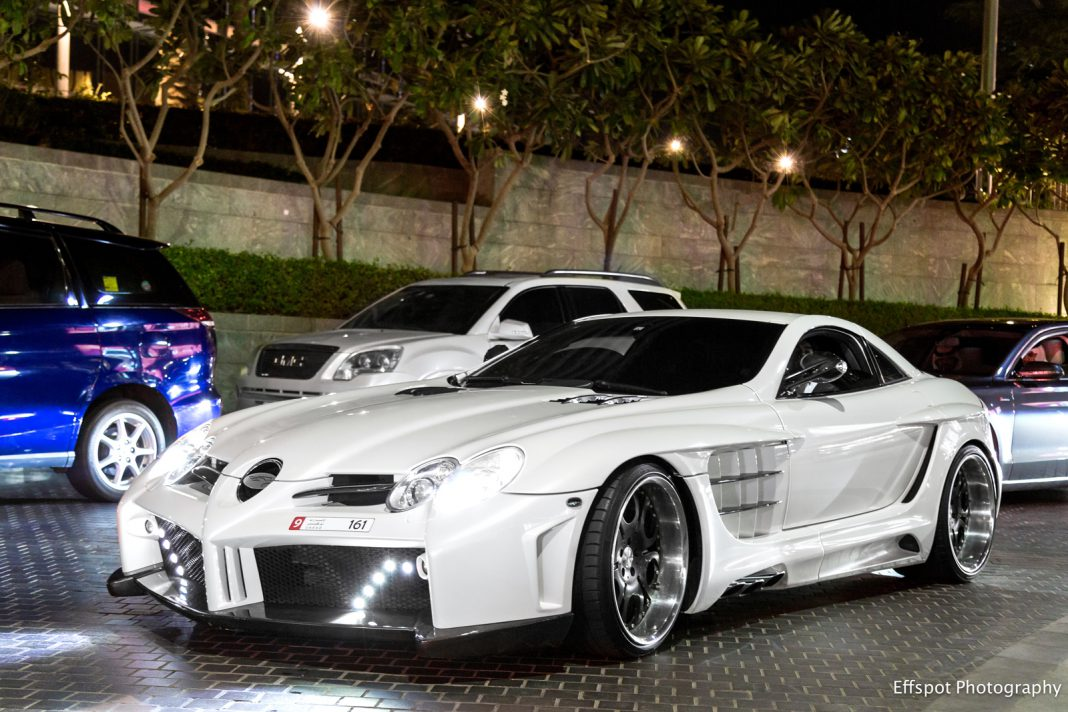 Photo Of The Day: Mercedes-Benz SLR McLaren by FAB Design in Dubai
