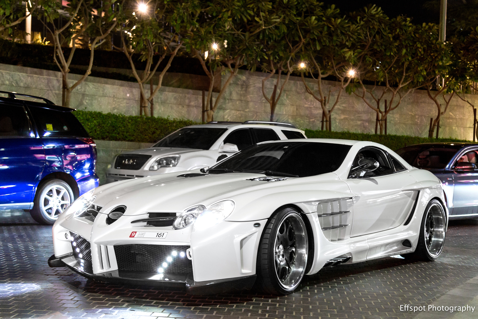 Photo Of The Day: Mercedes Benz SLR McLaren By FAB Design In Dubai