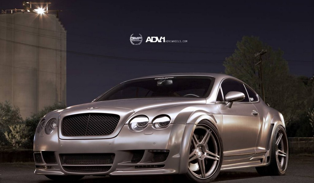 Widebody Bentley Continental GT by GMP Performance on ADV.1 Wheels