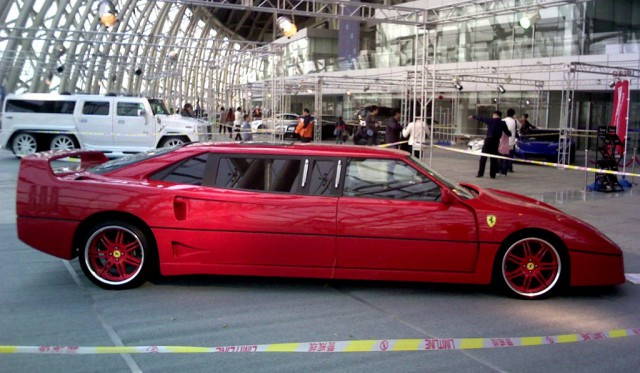 Overkill: World's Only Stretched Ferrari F40