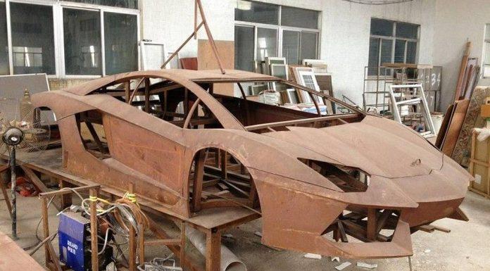 Chinese Steel Framed Lamborghini Aventador Replica Isn't Half Bad