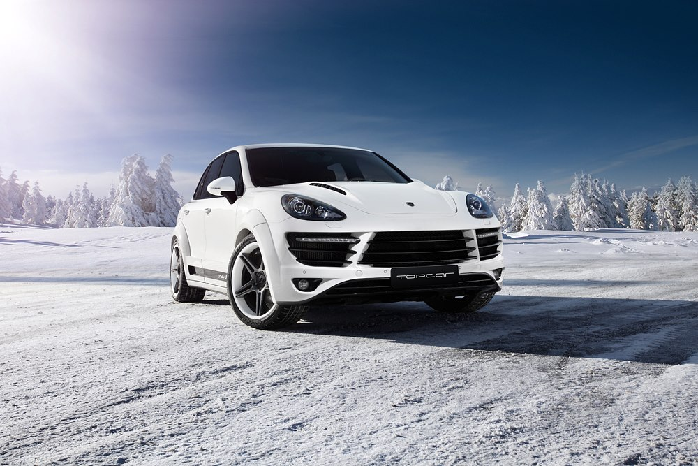 TopCar Porsche Cayenne Vantage 2 Russian Winter Photoshoot